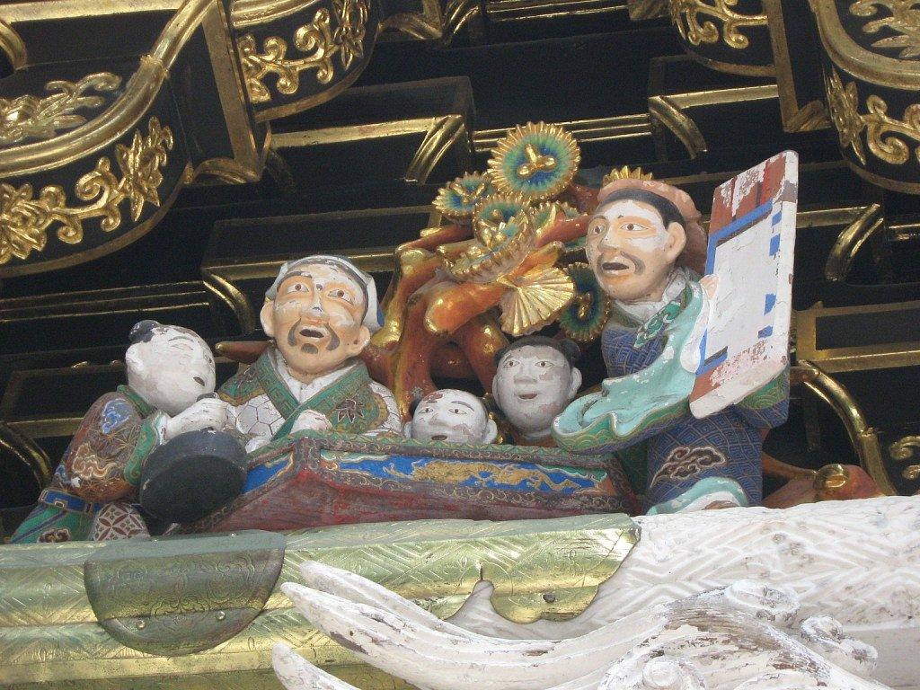 Nagy Mónika: Nikko Toshogu - kedves életkép az egyik tető alatt