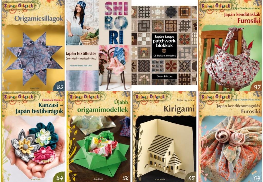 japán könyvek