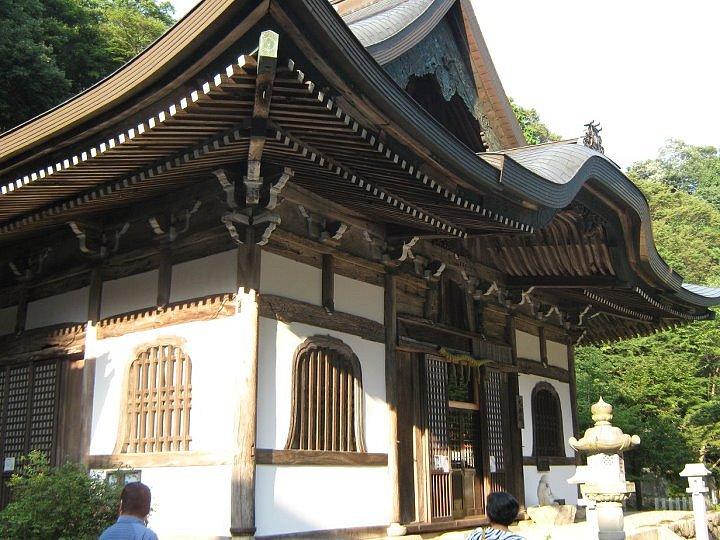 Nagy Mónika: Shindaibutsu-ji egyik épülete (Iga megye)